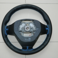 Mazda RX-8 - Thicker, Thumb grips built up, perforated sides, smooth topbottom, Blue stitching 3.JPG