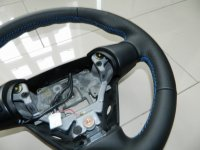 Mazda RX-8 - Thicker, Thumb grips built up, perforated sides, smooth topbottom, Blue stitching 2.JPG